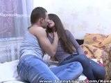 Pretty Teen Takes His Cock In Her Tight Virgin Ass