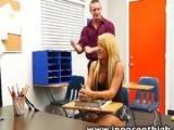 Teacher Destroy Naive Schoolgirl After Class !!!