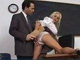 Busty Milf Teacher Fucked By Husbands Best Friend After Class