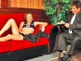 Young  Teen  Cheerleader Gets Her Wet Pussy Fucked